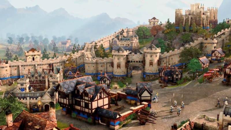 Castillos y murallas son claros protagonistas del primer trailer de Age of Empires 4