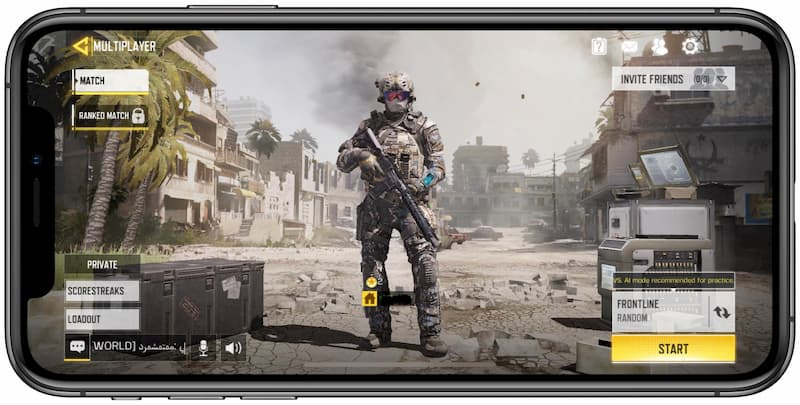 call of duty mobile iphone