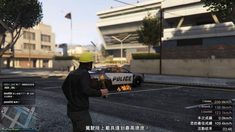 Las protestas de Hong Kong llegan a GTA Online