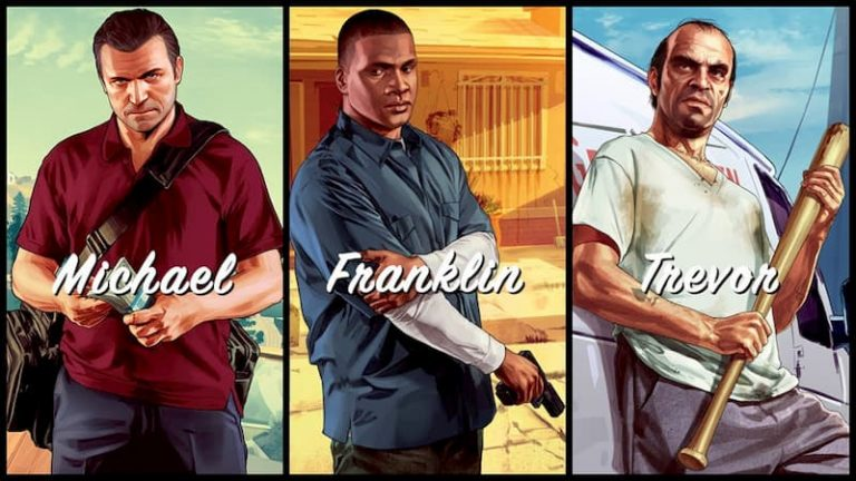 Micheal, Franklin y Trevor Phillips los 3 Personajes de GTA V