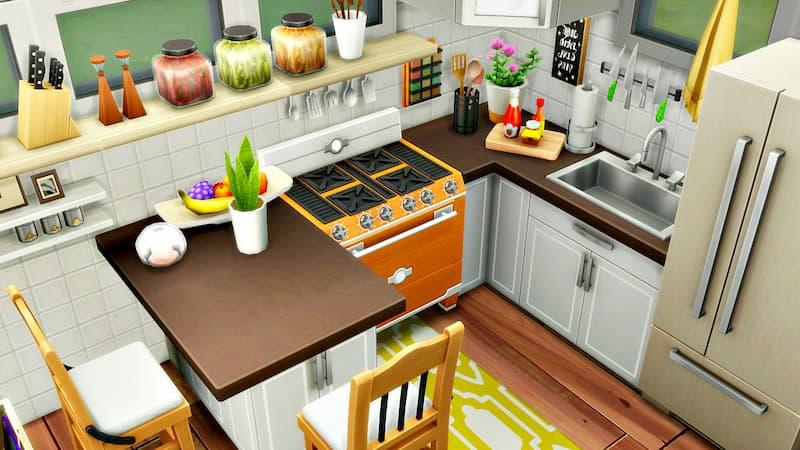 cocina sims 4 minicasas