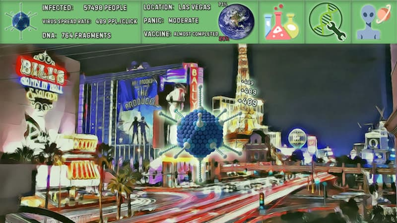 coronavirus simulator ciudad