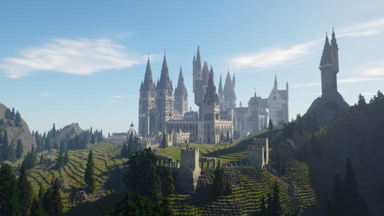 Convierte tu mapa de Minecraft en Hogwarts gracias a este mod de Harry Potter