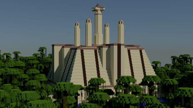 templo jedi minecraft