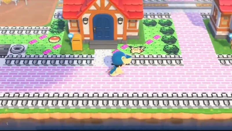 ¿Animal Crossing o Pokémon? Esta decoración pokemaníaca de la isla es fascinante