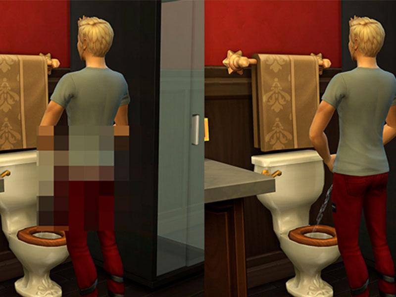 Este mod te permitirá eliminar la censura en Los Sims 4