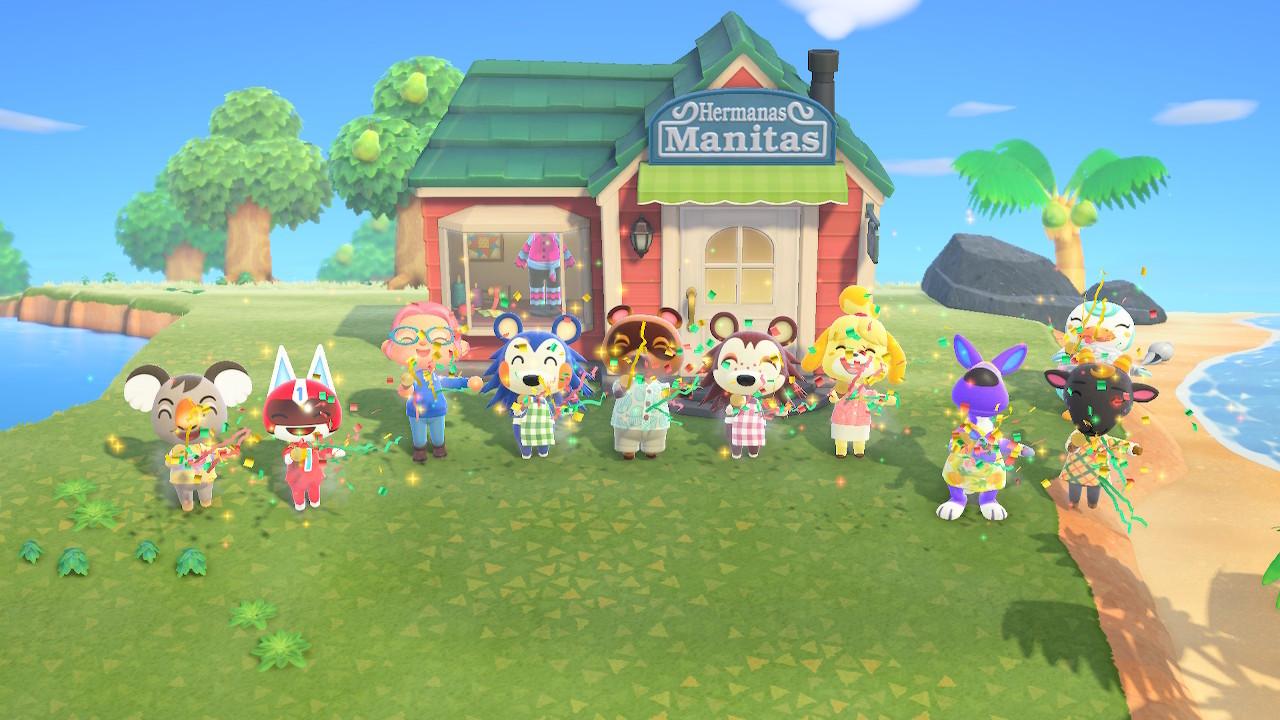 Cómo atraer a las Hermanas Manitas a tu isla para que instalen su tienda en Animal Crossing: New Horizons