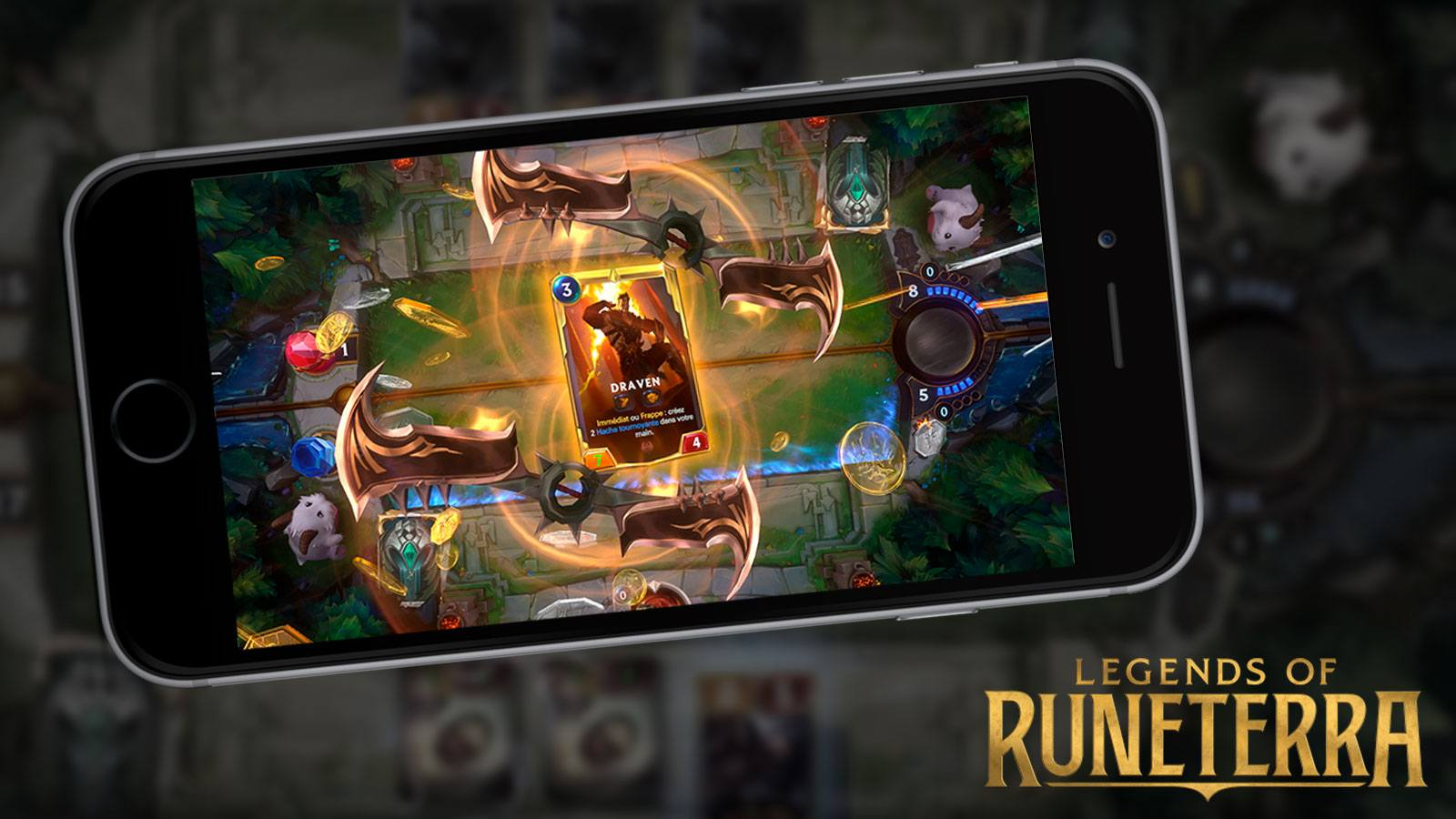 Juega Legends of Runeterra desde tu teléfono móvil.
