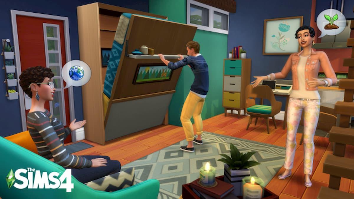 Cómo mudar a tu familia o a un sim en Los Sims 4