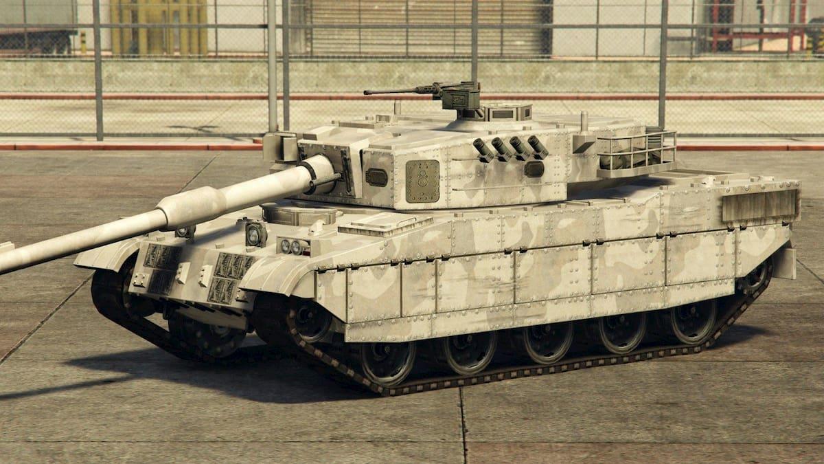 ¿Cómo conseguir un tanque en GTA V?