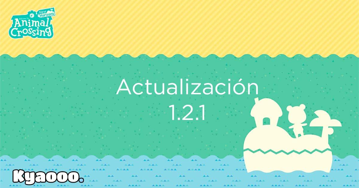Estas son las novedades del parche 1.2.1 de Animal Crossing: New Horizons