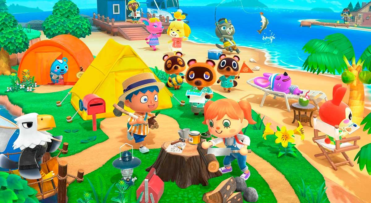 Xbox visita las islas de Animal Crossing: New Horizons