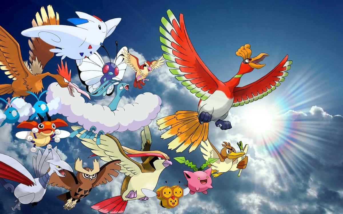 Los mejores pokémon de tipo volador para el competitivo de Escudo y Espada