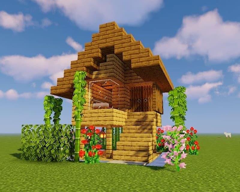 casa pequena minecraft