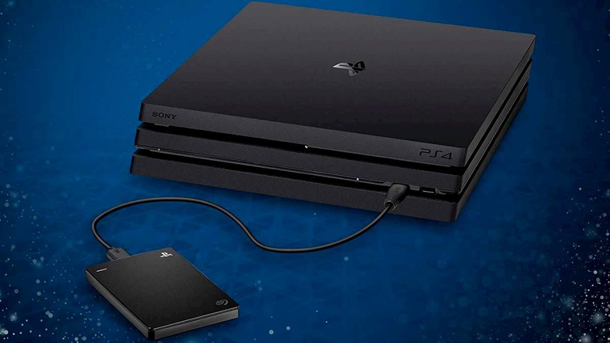 Discos duros externos para PS4 y PS5