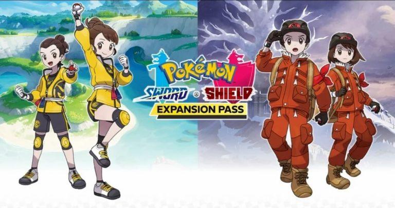 Pase de expansión de Pokémon Escudo y Espada: los legendarios que vienen