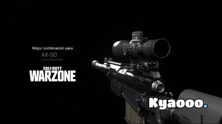 La mejor combinación para la AX-50 en Warzone con la que arrasarás a todas las partidas