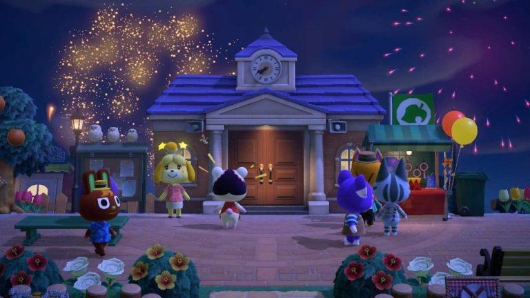 Así podrás personalizar los fuegos artificiales en Animal Crossing: New Horizons