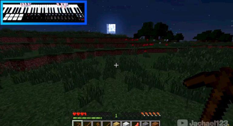 Un usuario se ha pasado Minecraft... ¡jugando con un piano!