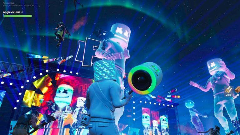 Un nuevo concierto podría llegar a Fortnite