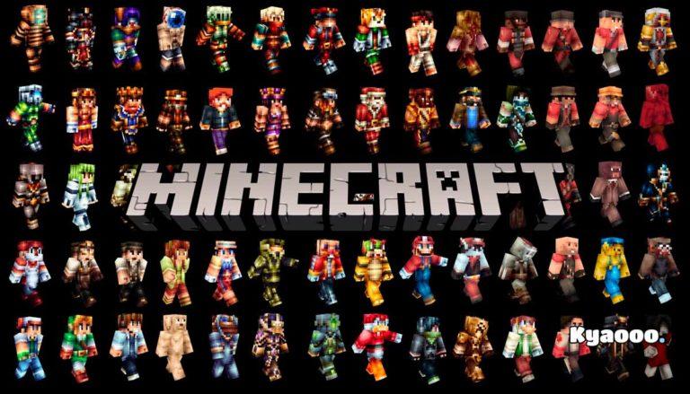 Las mejores skin de Minecraft