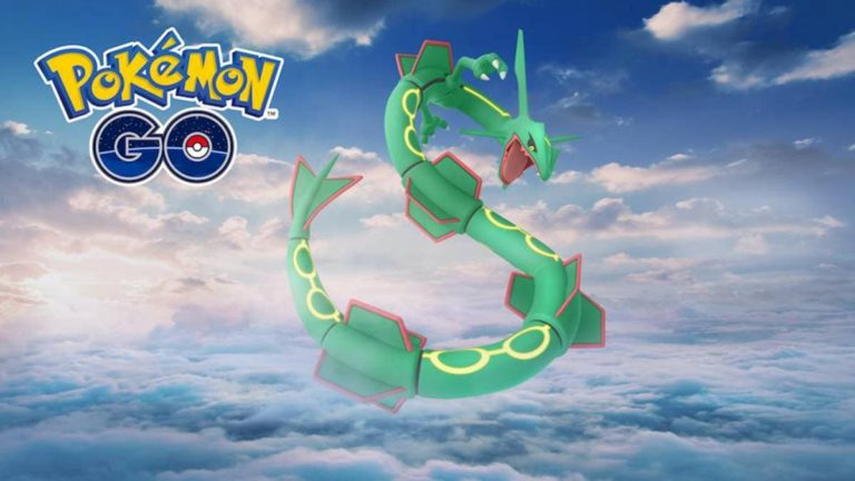 ¡Empiezan las incursiones de Rayquaza en Pokémon GO!