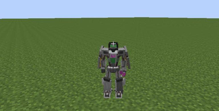 Este es el mod de Transformers en Minecraft
