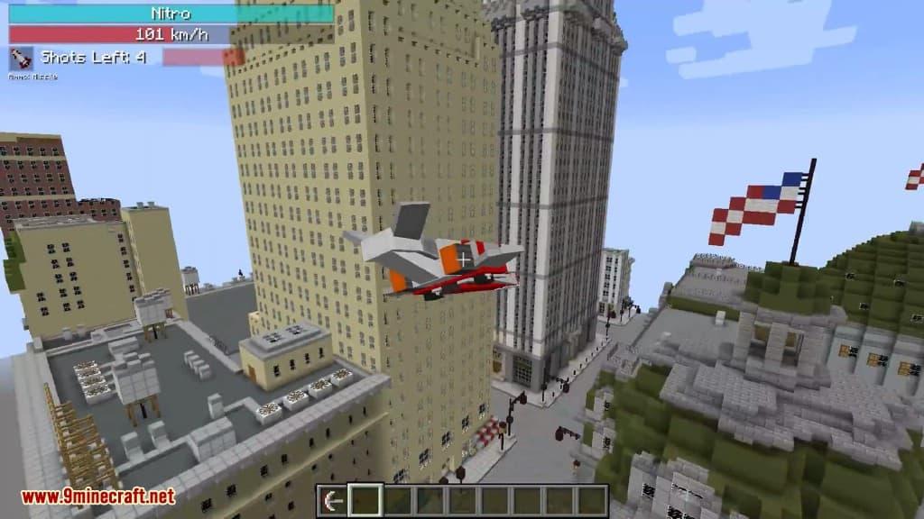 transformer mod minecraft avion