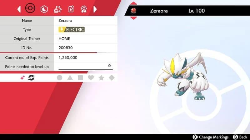 Cómo conseguir a Zeraora shiny en Pokémon Escudo y Espada