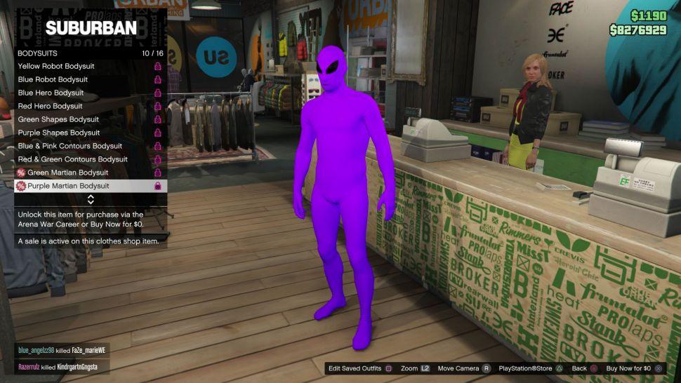 Así se desbloquean los trajes de alien verde y morado en GTA Online