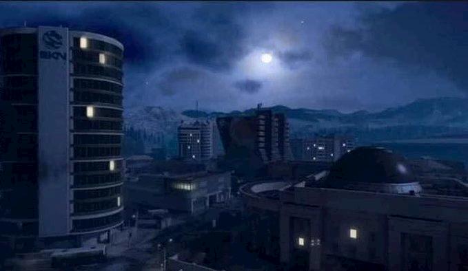 Nuevo mapa nocturno