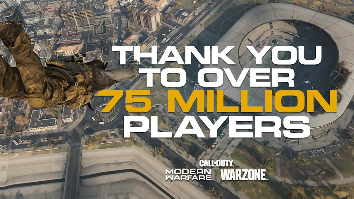 Warzone alcanza los 75 millones de jugadores