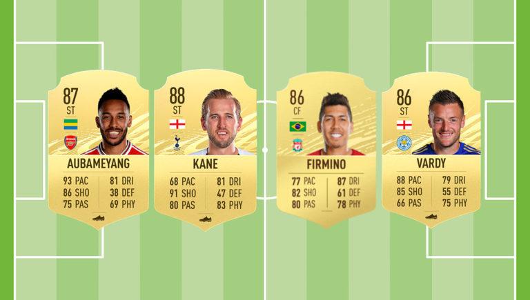 Los mejores delanteros de la Premier League en FIFA 21
