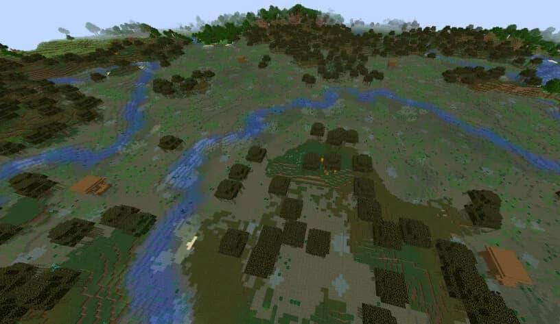 minecraft semillas septiembre brujas refugio