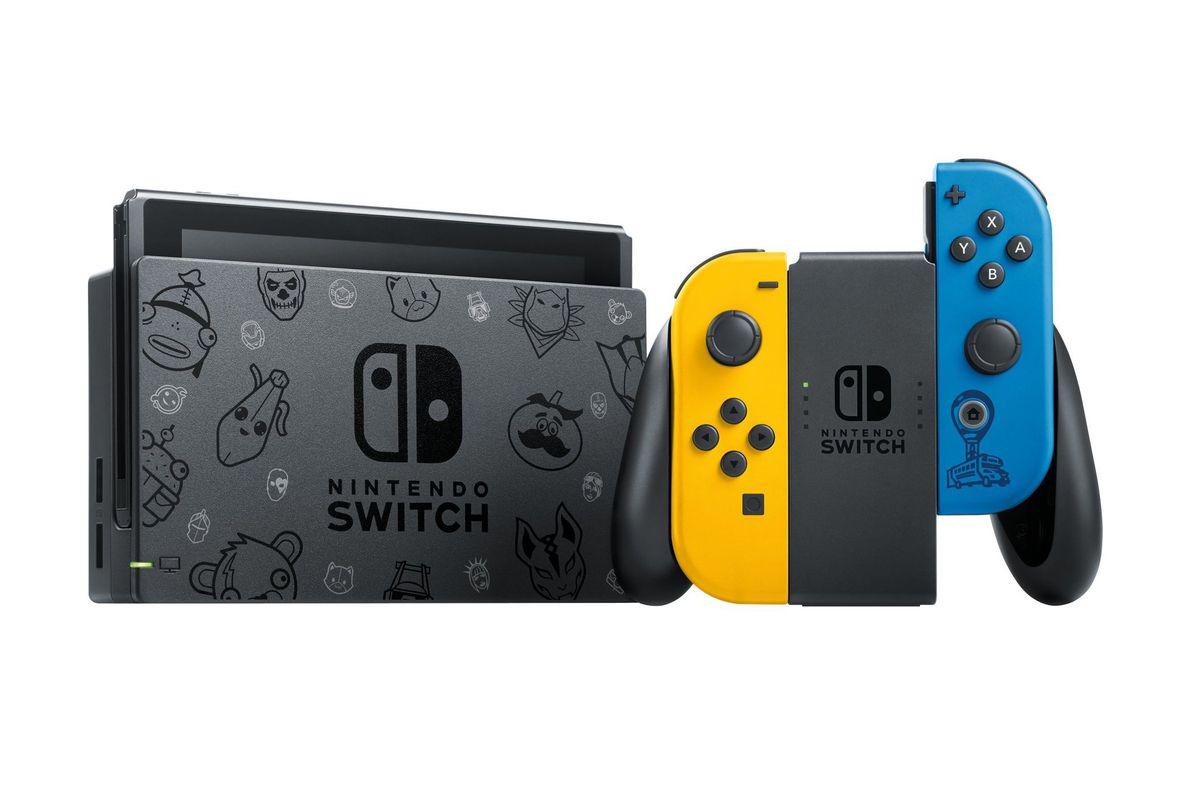 Nintendo lanzará una edición especial de Switch de Fortnite