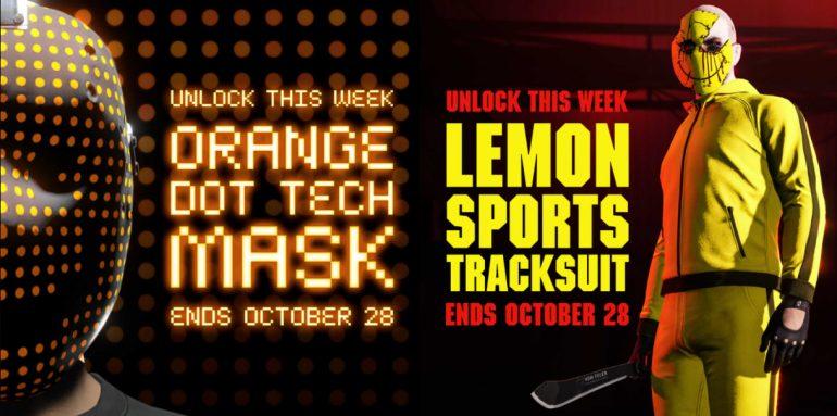 chandal limon mascara naranja gta online