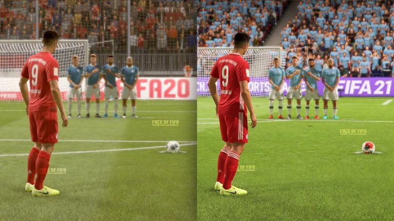 Cómo meter goles de falta directa en FIFA 21
