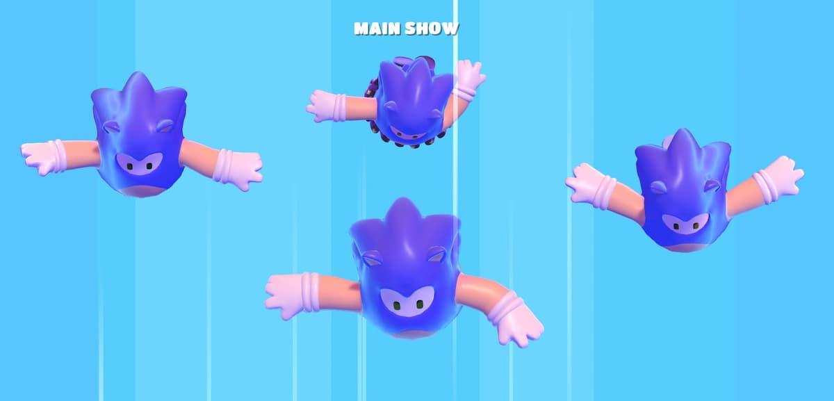 Fall Guys recibe una skin espectacular de Sonic tras un acuerdo con SEGA