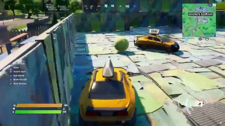 Así se juega al Rocket League en Fortnite