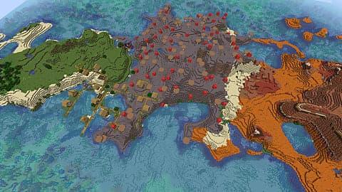 multiples biomas semillas minecraft octubre 2020 1