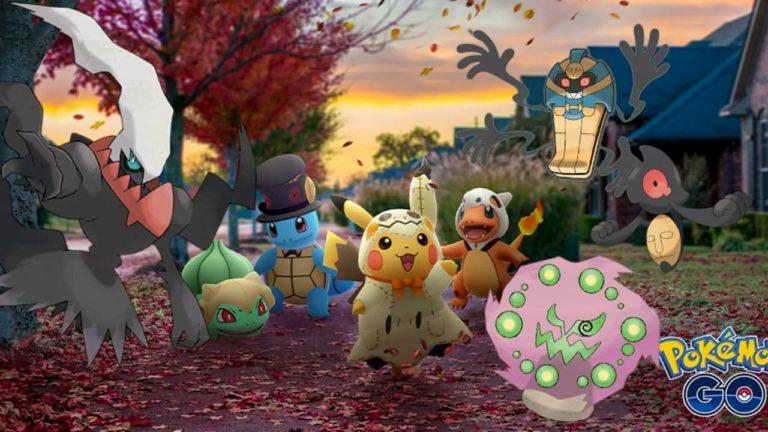 Estas podrían ser las novedades de Pokémon GO para la fiesta de Halloween