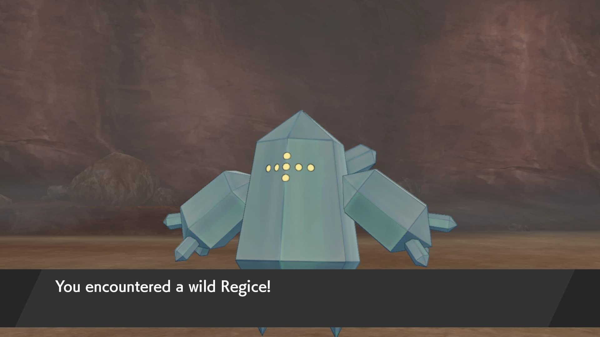 regice pokemon escudo espada