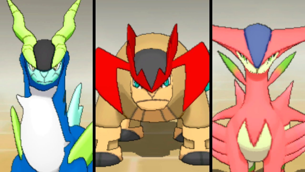 Cómo conseguir a Terrakion, Virizion y Cobalion shiny en Pokémon Escudo y Espada