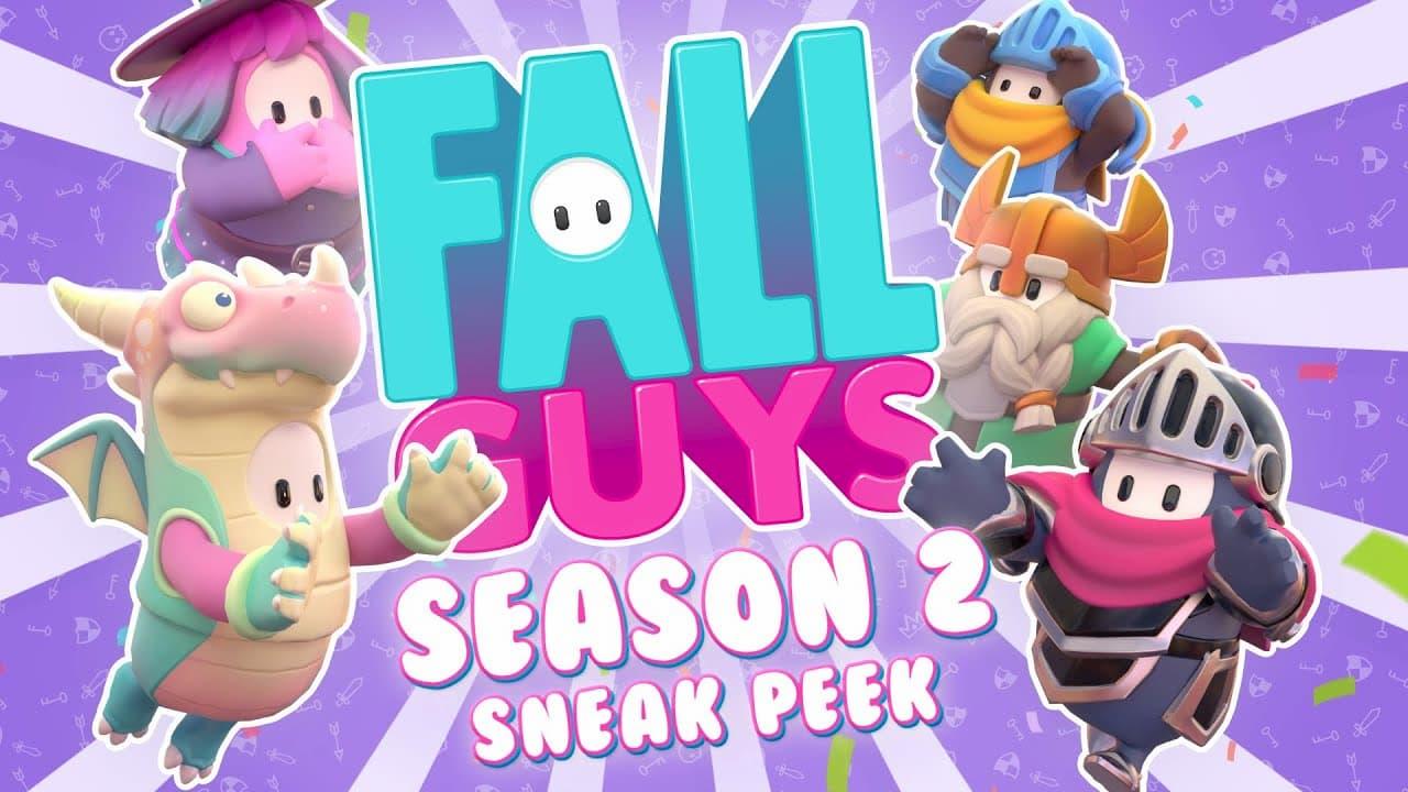 Este es el trailer de presentación de la temporada 2 de Fall Guys
