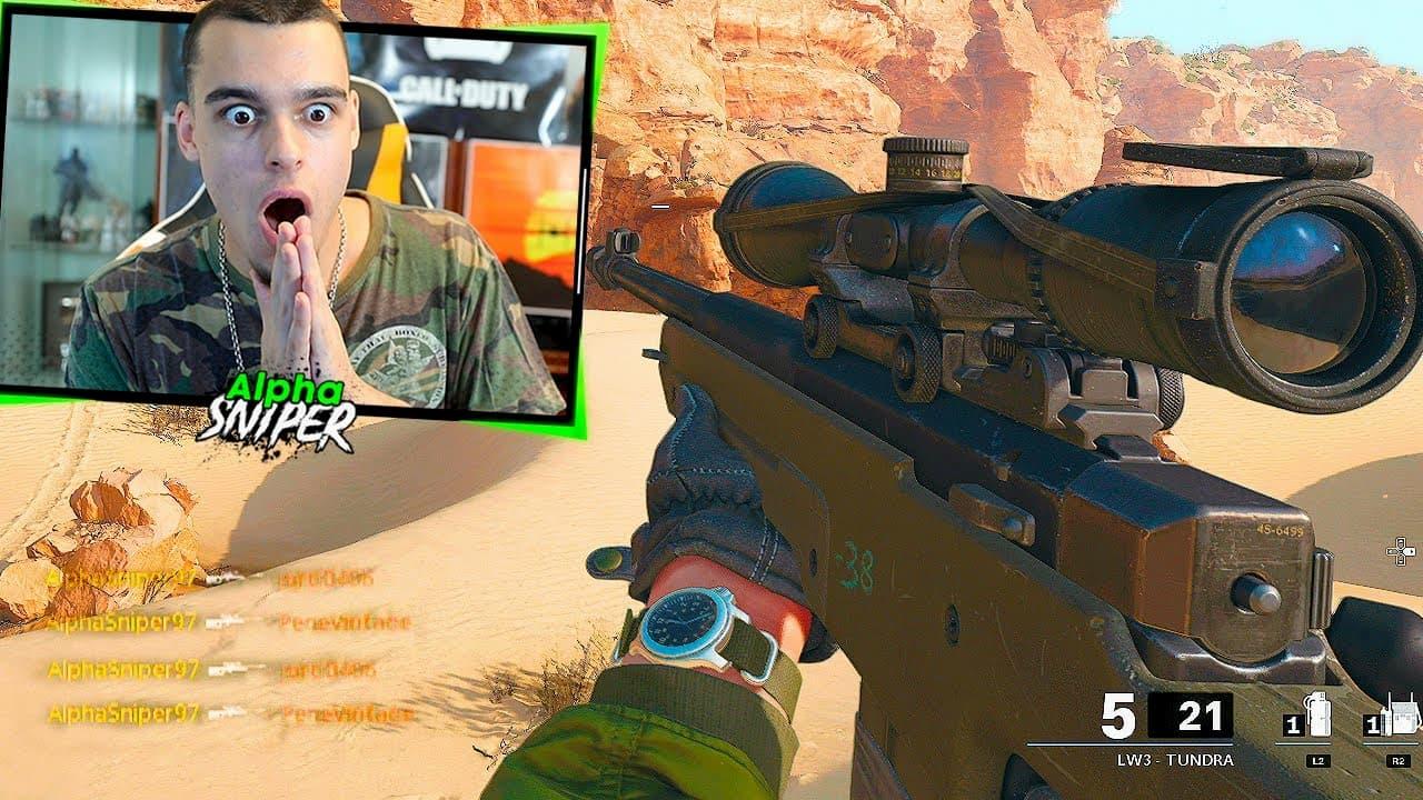 AlphaSniper explota contra el multi de Call of Duty Cold War en PS5
