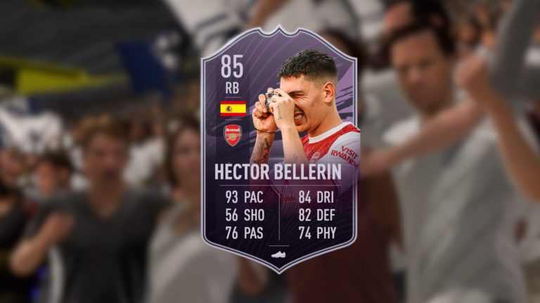 Cómo conseguir la carta Jugador de Liga de Héctor Bellerín en FIFA 21