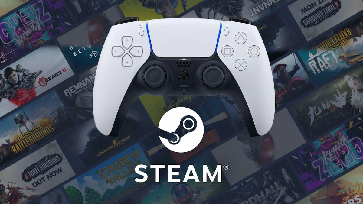 El DualSense de PS5 ya está disponible para usarse en Steam
