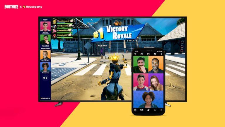 Houseparty te permitirá hacer videollamadas en partidas de Fortnite