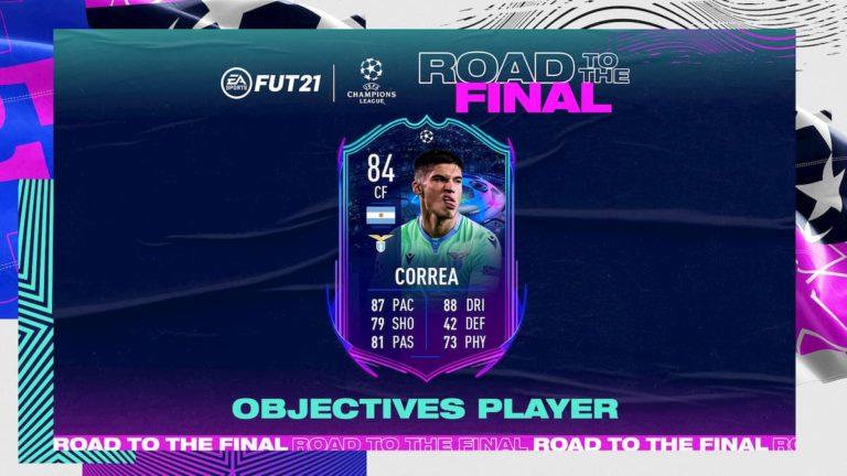 Cómo conseguir a Correa RTTF del FUT de FIFA 21