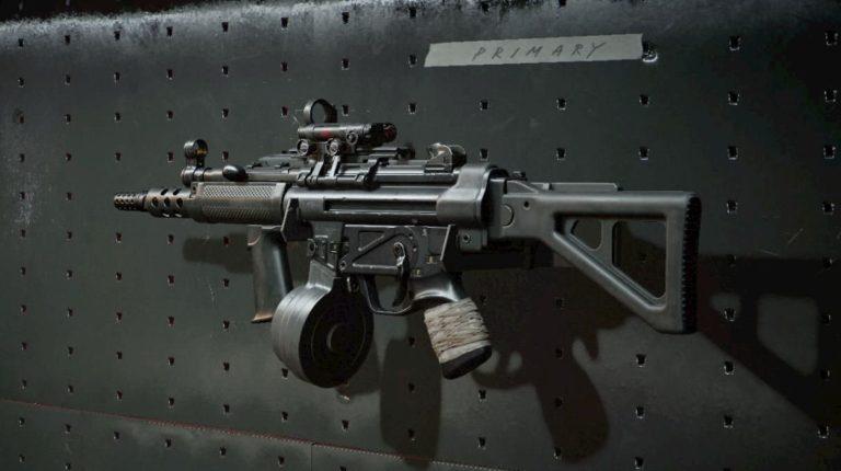 La MP4 se nerfeará en Black Opd Cold War